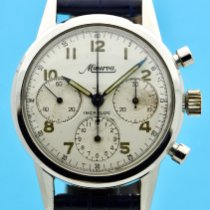 Minerva Steel 36mm Manual winding VD 712 pre-owned United States of America, New York, New York