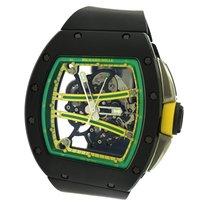 Richard Mille RM 061 Carbon 50.23mm Transparent No numerals