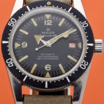 Milus Steel 38mm Automatic 30.105 new United States of America, New York, New York