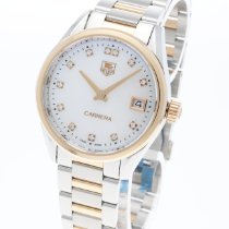 TAG Heuer Carrera Lady Gold/Steel 32mm Mother of pearl No numerals