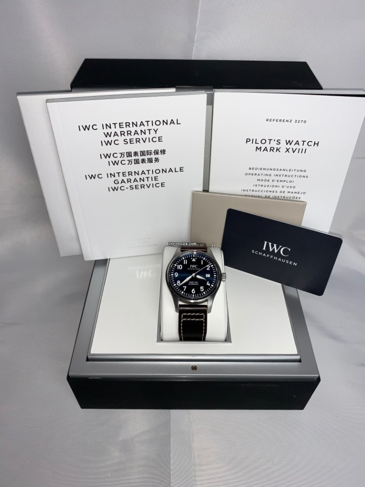 IWC Pilot Mark IW327010 2019 pre-owned