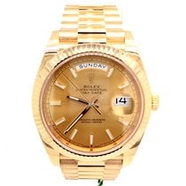 Rolex Yellow gold Automatic Gold 40mm new Day-Date 40