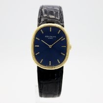 Patek Philippe Golden Ellipse Yellow gold 27mm Blue No numerals United States of America, California, Santa Monica