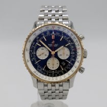Breitling Navitimer 01 (46 MM) Gold/Steel 46mm Black No numerals United States of America, California, Santa Monica