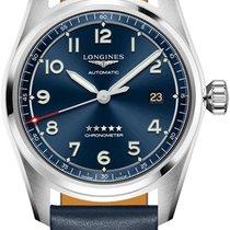Longines Spirit Steel 40mm Blue United States of America, New York, Airmont