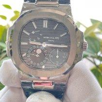 Patek Philippe Белое золото Автоподзавод Cерый Без цифр 40mm подержанные Nautilus