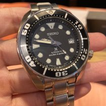 Seiko Prospex Steel 44mm Black No numerals Thailand, Samutprakarn