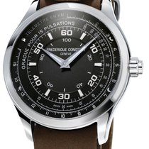 Frederique Constant Horological Smartwatch Сталь 42mm Черный