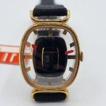 Juvenia Gold/Stahl 25mm Handaufzug 8720N neu