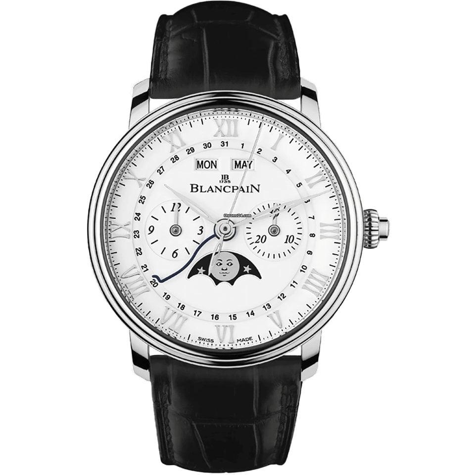Blancpain Villeret Complete Calendar 6685-1127-55B 2021 new