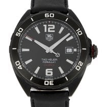TAG Heuer Formula 1 Calibre 5 pre-owned 41mm Black Date Buckle