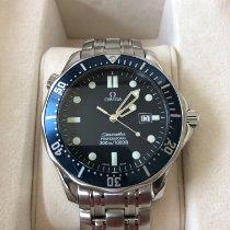 Omega Seamaster Diver 300 M Stahl 41mm Blau Keine Ziffern