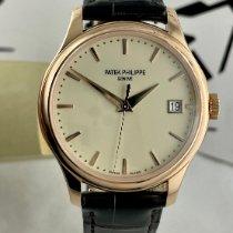 Patek Philippe Calatrava Rose gold 39mm Champagne No numerals