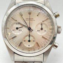 Rolex Chronograph Acier 36mm Argent Sans chiffres