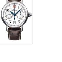 Longines Column-Wheel Chronograph Сталь 40mm Белый Aрабские Россия, Moscow