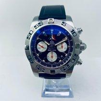 Breitling Chronomat 44 Сталь 44mm Черный Без цифр