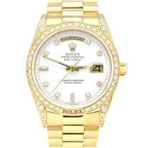 Rolex Day-Date 18138 Bardzo dobry Żółte złoto 36mm Automatyczny