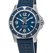 Breitling Superocean 42 Steel Blue Arabic numerals United States of America, New York, Brooklyn