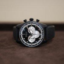 Zenith Aluminum Automatic Black No numerals 42mm new El Primero Chronomaster