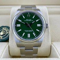 Rolex Oyster Perpetual nuevo 2021 Automático Reloj con estuche y documentos originales 124300
