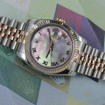 Rolex 116231 Guld/Stål 2012 Datejust 36mm ny