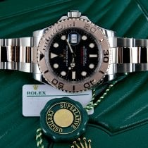 Rolex Yacht-Master 40 Gold/Steel 40mm Black No numerals United States of America, Michigan, Detroit