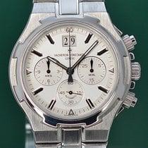 Vacheron Constantin Overseas Chronograph Steel 40mm Silver No numerals