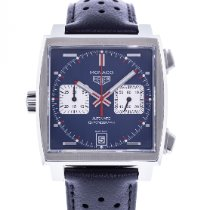 TAG Heuer Monaco Calibre 11 Steel 39mm Blue United States of America, Georgia, Atlanta
