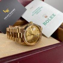 Rolex Day-Date 36 Oro amarillo 36mm Oro Sin cifras