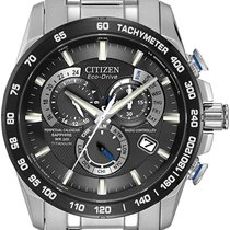 Citizen Titanium Quartz Black new