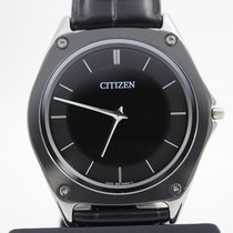Citizen Eco-Drive One pre-owned 36mm Black Leather