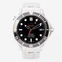 Omega Seamaster Diver 300 M pre-owned 41mm Black Date Steel