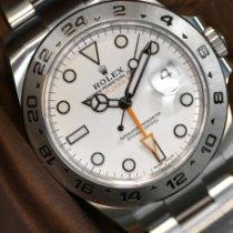Rolex Explorer II Stahl 42mm Weiß Keine Ziffern Schweiz, Geneve