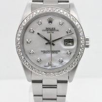 Rolex 1501 Steel 1979 Oyster Perpetual Date 34mm pre-owned