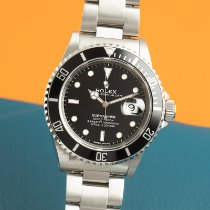 Rolex Submariner Date 16610 Mycket bra Stål 40mm Automatisk