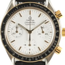 Omega Speedmaster Reduced Acero y oro 39mm Blanco