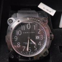 Hamilton Khaki Navy BeLOWZERO Steel Black Arabic numerals United States of America, California, Monrovia