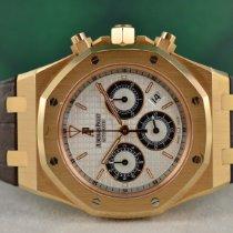 Audemars Piguet Royal Oak Chronograph 26022OR.OO.D088CR.01 Sehr gut Roségold 39mm Automatik