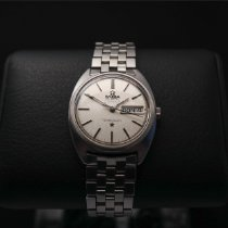 Omega Constellation Day-Date Stål 35mm Silver Inga siffror
