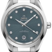 Omega Steel 38mm Automatic 220.10.38.20.53.001 new