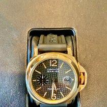 Panerai Yellow gold Automatic Black Arabic numerals 44mm pre-owned Luminor Marina Automatic