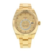 Rolex Yellow gold 2010 Sky-Dweller 42mm new United States of America, New York, NYC