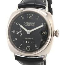 Panerai White gold 45mm Automatic PAM00496 pre-owned