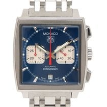TAG Heuer Monaco Steel 38mm Blue