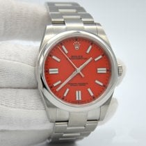 Rolex Oyster Perpetual Steel 41mm Red No numerals United States of America, New York, New York