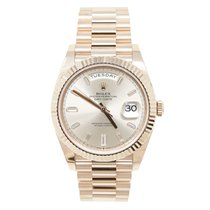 Rolex Day-Date 40 Rose gold 40mm Pink Roman numerals United States of America, California, Los Angeles