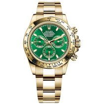 Rolex Daytona Yellow gold 40mm Green No numerals United States of America, New York, New York