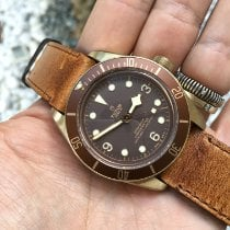 Tudor Black Bay Bronze Bronze 43mm Brown Arabic numerals