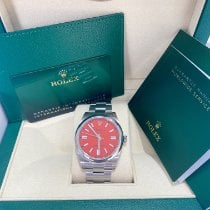 Rolex Oyster Perpetual Steel 41mm Red No numerals United States of America, Florida, Miami