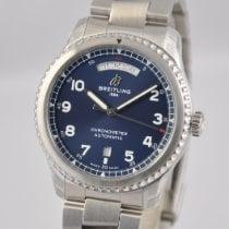 Breitling Aviator 8 Steel 41mm Blue Arabic numerals United States of America, Ohio, Mason